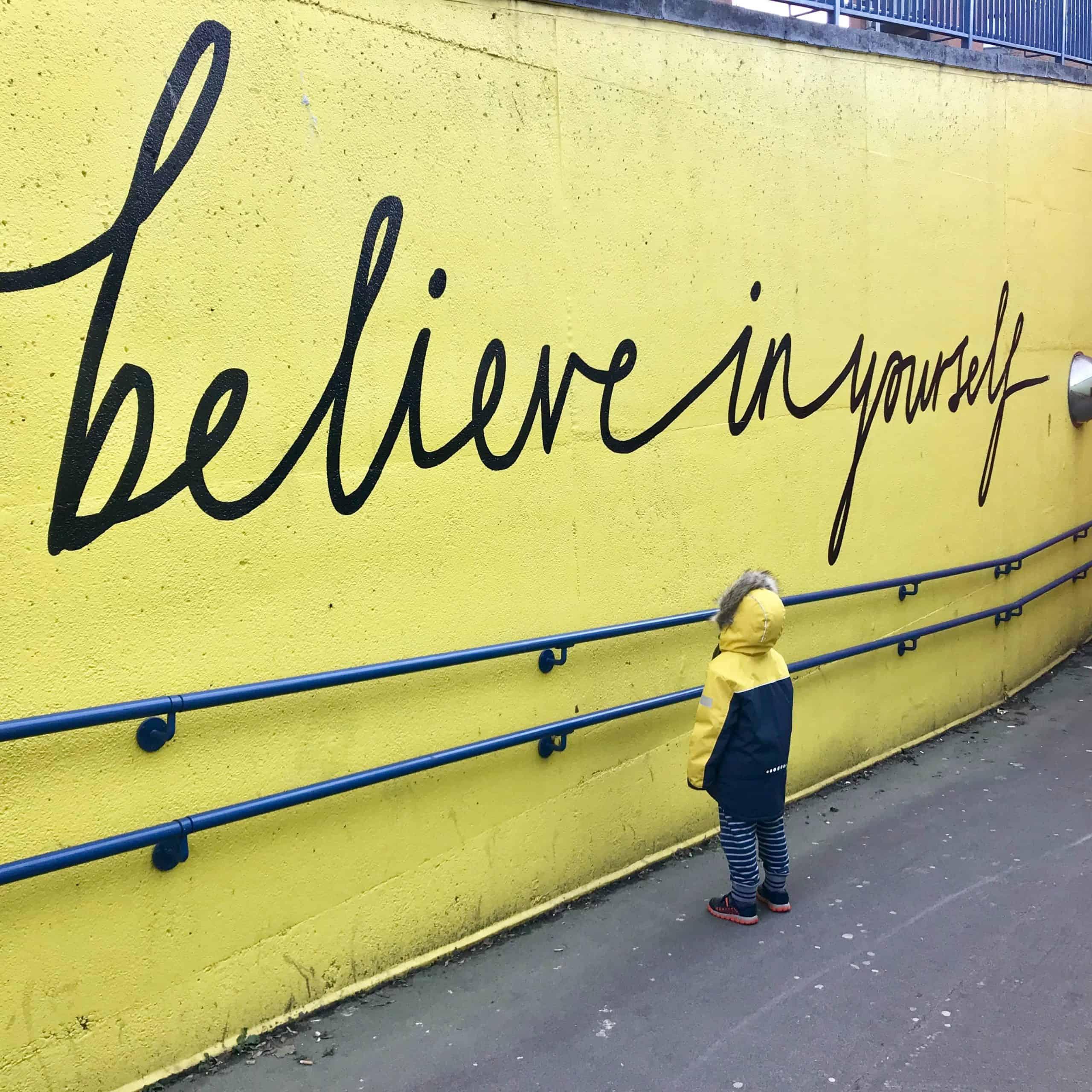 Geloof dat je je doelen kunt bereiken